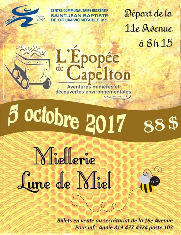 Affiche mine Capelton CCRSJB