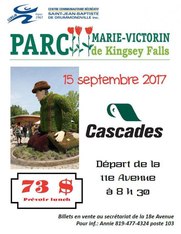 Affiche parc Marie-Victorin CCRSJB
