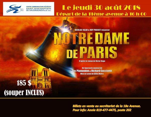 Sortie Notre-Dame de Paris